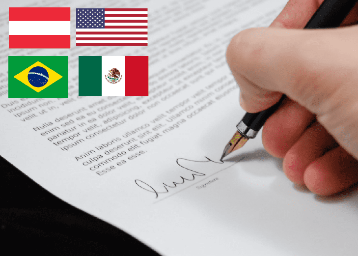 The United States and Mexico, alongside Austria and Brazil, are the first to create new arrangements in 2020