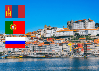The intellectual property offices of Mongolia, Portugal, and Russia have amended their IP fee schedules respectively